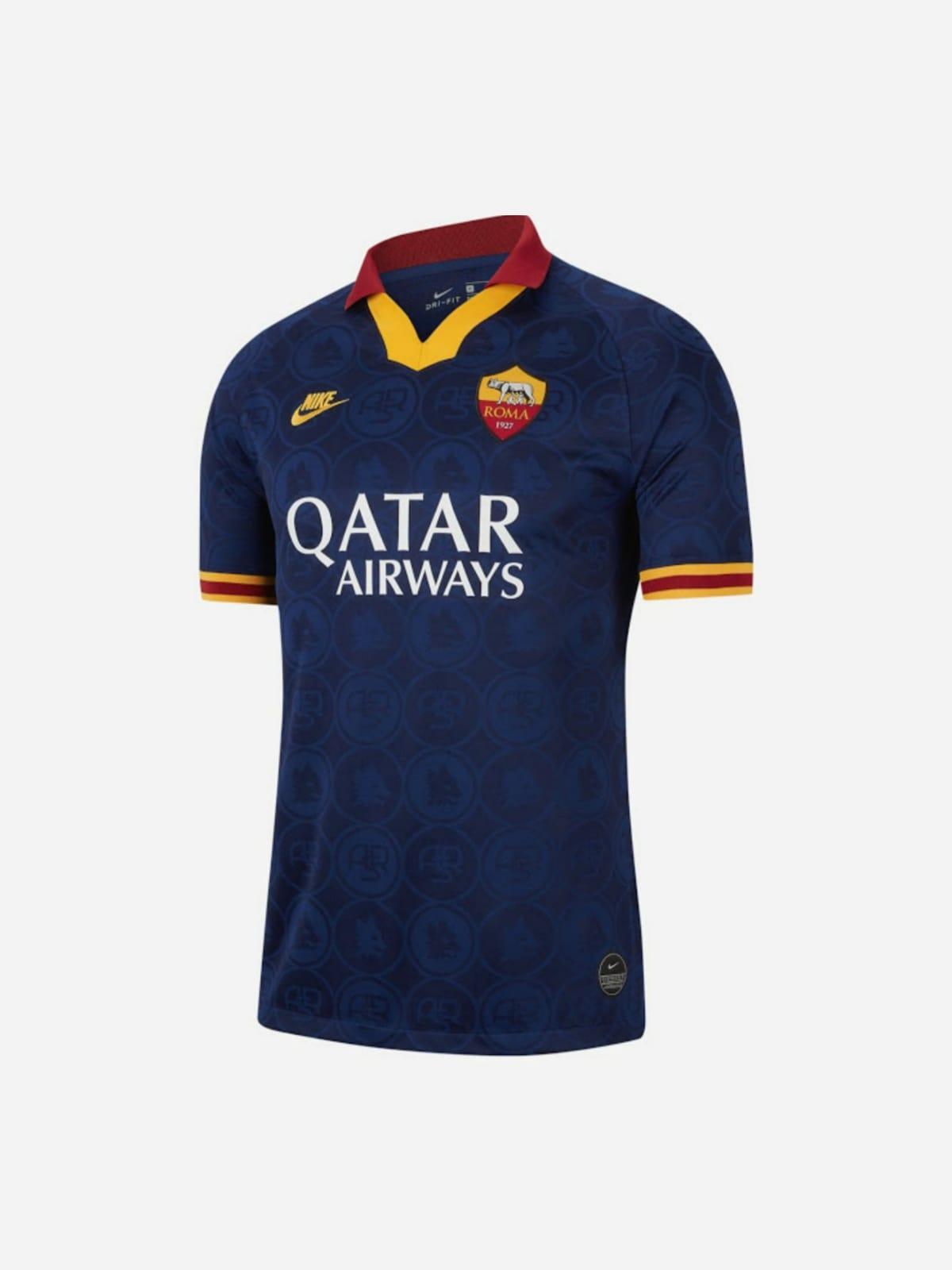 Svelata la terza maglia della Roma: sarà indossata domani contro l ...